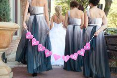 Glam Fushia & Grey Chatham Wedding from With Love Heather   Wedding Obsession - Canadian Blog