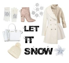 """""""Style for winter #fashion #style #winter #christmas #christmasfashion"""" by savirafianiesa on Polyvore featuring Kendall + Kylie, MICHAEL Michael Kors, Accessorize and Fits"""