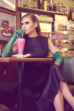american diner fashion photography - Google Search