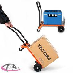 Diable Chariot de transport pliable sac brouette charge max 80kg