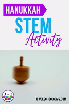 With a little breathing room between now and Christmas, I think it's the perfect time to look at Holidays Around the World STEM activities! This is why I have seven holidays and seven STEM activities just for you! One of them is this Hanukkah STEM Challenge. Challenge your students to design and build a dreidel that works out of simple materials! Click to learn more.