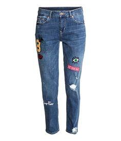 Boyfriend Regular Jeans   H&M Denim
