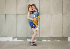 Colete infantil jeans de patchwork da marca Coleteria ♡ - Coletes exclusivos | feminino e infantil | Coleteria ♡