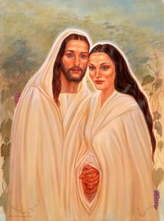 Jesus and Mary Magdalene:The sacread marriage