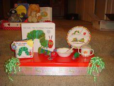 baby shower centerpiece storybook theme