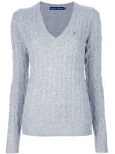 RALPH LAUREN grey Cable Knit Sweater, on the hunt...