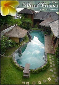 Villa Gitana - Beautiful Rental Villa in Bali - Luxury group vacation rental home with swimming pool and tropical gardens