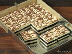 Ciasto Inka - Obżarciuch Polish Recipes, Polish Food, Animal Print Rug, Food And Drink, Tasty, Sweets, Baking, Cake, Diet