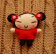 this cute doll makes me smile :-)