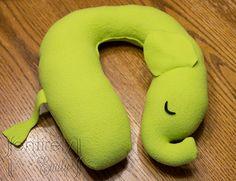 DIY Elephant Travel Pillow, via Entirely Emily,  Go To www.likegossip.com to get more Gossip News!