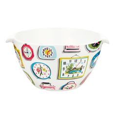 Ready for the bake-off! | Clocks Mixing Bowl | Cath Kidston