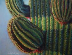 """Saguaro Sunrise"" -  Cindy Gillett"