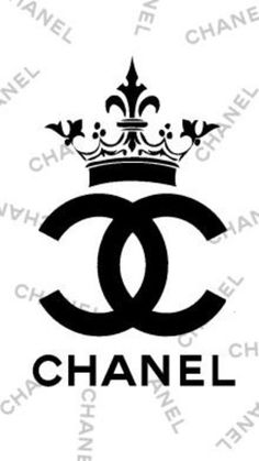 Chanel Logo Stencil Sketch Coloring Page Sketch Coloring Page Coco Chanel Wallpaper, Chanel Wallpapers, Chanel Birthday Party, Chanel Party, Chanel Cake, Chanel Wall Art, Chanel Decor, Chanel Stickers, Anniversaire Hello Kitty