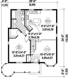 This is the floor plan for a barrier free project we had for 32x32 house plans