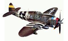 1942 ... P-47D Republic 'Thunderbolt' | Flickr - Photo Sharing!