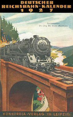 Reichsbahn-Kalender 1927
