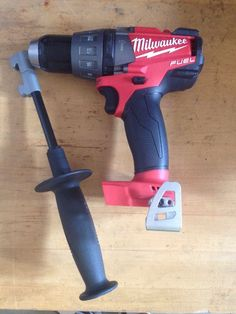 This is a new hammer drill and includes the side hammer and operating manual. It does NOT include a battery NOR a charger. #tool #only #drill #hammer #fuel #milwaukee