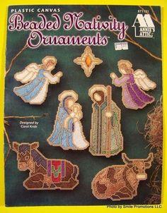 Plastic Canvas Beaded Nativity Ornaments Annie's Attic 871131 | eBay. $8.95