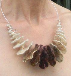 Anat Gelbard- Handmade felt and silver