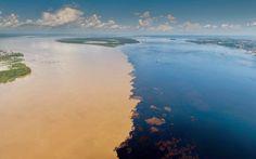 Meeting of the Waters – Manaus - Amazonas - Brazil