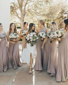 d2b90fc6404 46 Beautiful Bridesmaid Dresses for your Best Friends to Wear. Mauve ...