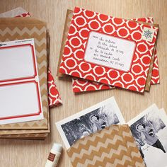 Festive Envelopes and more on MarthaStewart.com