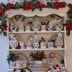 Christmas Dresser at Emma Bridgewater