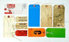 love an old hang tag