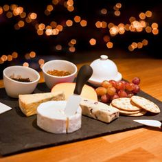 Chalk and Cheese Serving Gift Set | Cheese Platter Cheese Board - Buy at drinkstuff