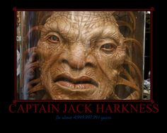 """Doctor Who - Captain Jack Harkness """"Face of Boe"""""""