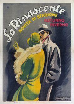 By Marcello Dudovich, 1 9 2 6, La Rinascente (Italy).