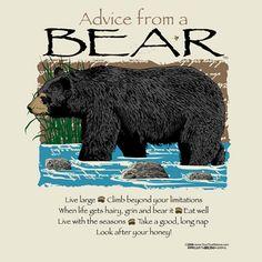 Advice from a Bear
