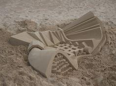 Castillos de Arena Extremos De Calvin Seibert 4 650x487 Extreme Sandcastles Calvin Seibert