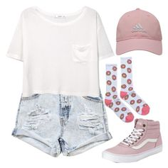 """#480"" by morenirvana ❤ liked on Polyvore featuring adidas Golf, One Teaspoon, MANGO, ODD FUTURE and Vans"