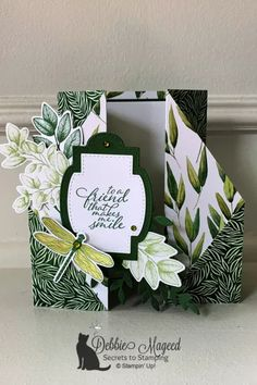 How to Make a Double Gate Fold Card for Creative Creases Challenge #4 Fun Fold Cards, Folded Cards, Double Gate, Make Smile, Card Tutorials, Stamping Up, Stampin Up Cards, 3 D, Card Making