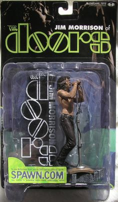 McFarlane Music Jim Morrison of The Doors Super Stage Figure 2001 New In Box