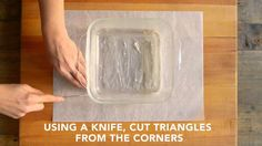 How to Line a Square