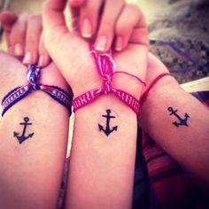simple anchor tattoo designs