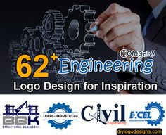 Looking creative logo design for your Engineering Company ? Find the best and top 62 Famous Engineering Company Logo Design Examples download png, vectors.