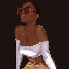 Shared by ॐ. Find images and videos about girl, cute and beauty on We Heart It - the app to get lost in what you love. Black Love Art, Black Girl Art, Black Is Beautiful, Black Girl Magic, Drawings Of Black Girls, Black Girl Cartoon, Black Art Pictures, Natural Hair Art, Black Artwork