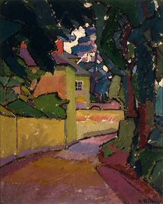 Harold Gilman (1876 - 1919) - Lane, Gloucestershire