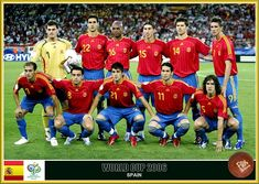 World Cup Teams, Fifa World Cup, Spanish Soccer Players, Fan Picture, Football Soccer, Squad, Spain, Germany, Sports