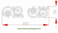Hungarian Embroidery, Autocad, Embroidery Patterns, Applique, Symbols, Letters, Folklore, Crafts, Regional