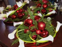 christmas flower designs | Creative Flower Shops And Their Latest Christmas Floral Designs