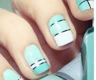 black, white and mint <3