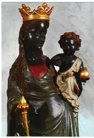 Black Madonna, Montserrat, Spain. aka Sophia