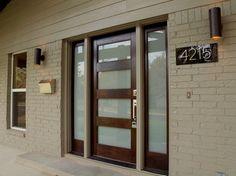 Burney contemporary porch