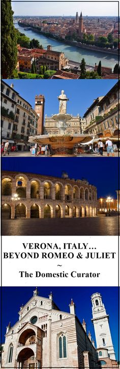 Although it's most famous as the setting for Shakespeare's Romeo and Juliet, Verona has much more to offer than its connections to the star-crossed lovers! Verona Italy, Star Crossed, Romeo And Juliet, Shakespeare, Lovers Art, Museums, Castles, Passport, Travel