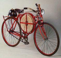 Amigos de la bicicleta-Bicicletas de bomberos
