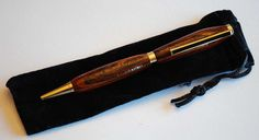 Slimline style pen with gold by BylersBarn on Etsy